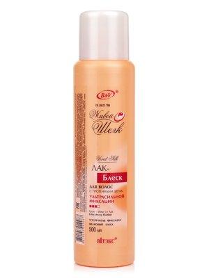 Лак-блеск для волос с протеинами шелка «Живой шелк» (500 мл) | 1945837