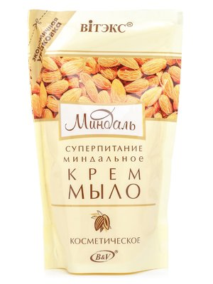 Крем-мыло миндальное косметическое (470 мл) | 1945845