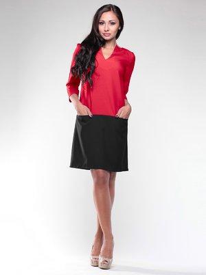 Платье красно-черное | 1946788