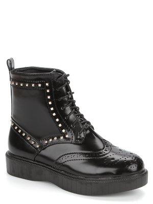 Ботинки черные с декором | 1955833