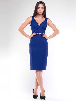 Платье цвета электрик   1959014