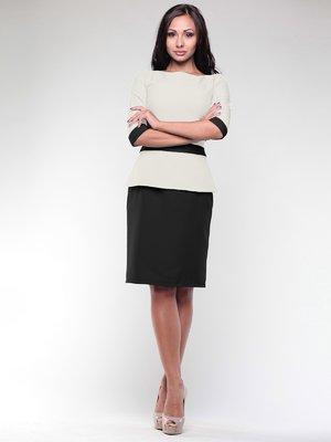 Сукня біло-чорна | 1959026
