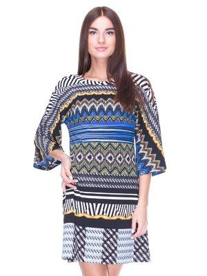 Платье в разноцветный принт | 1964554