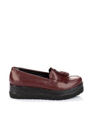 Туфлі бордові | 1970208