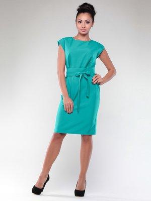 Сукня темно-ментолового кольору | 1969906