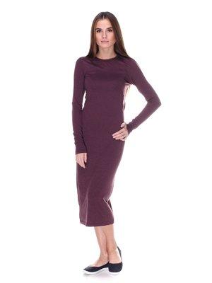 Платье бордовое | 1978088