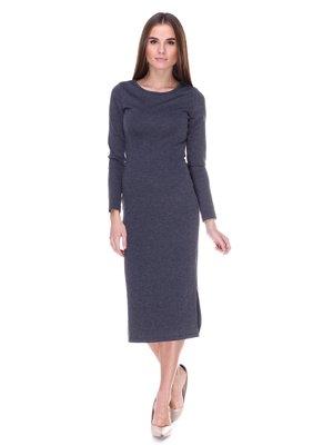 Платье серое | 1978090