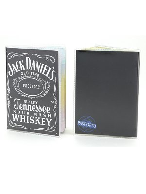 Обкладинка на паспорт «Джек Деніелс» | 1988262