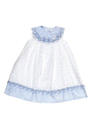 Сукня біло-блакитна | 3201856