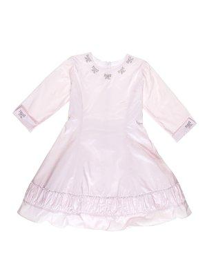 Сукня рожева з декором | 3342770