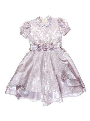 Платье сиреневое в рисунок   3342696