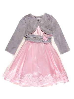 Комплект: сукня і болеро | 3201855