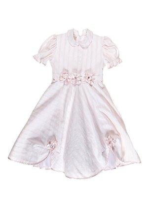 Платье розовое в полоску   3341227