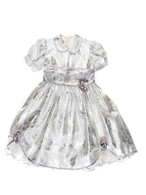Платье серебристое | 3342055