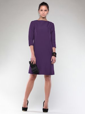Платье темно-фиолетовое | 1995274