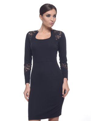 Платье черное | 1882654