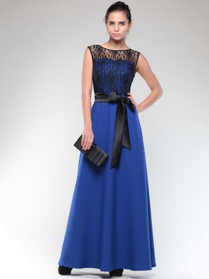 Сукня синьо-чорна | 2004369