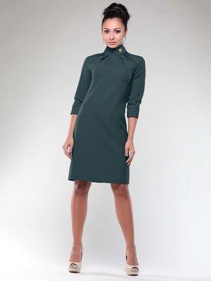 Платье темно-изумрудное | 2005590