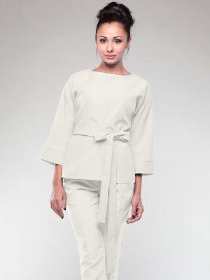 Блуза молочного кольору | 2005600