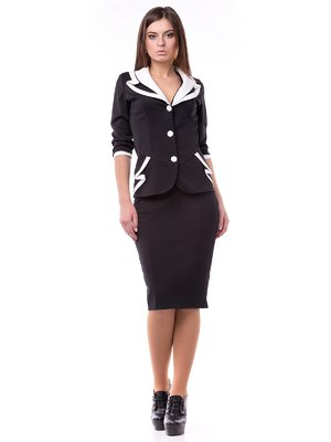 Костюм: жакет и юбка | 2016718