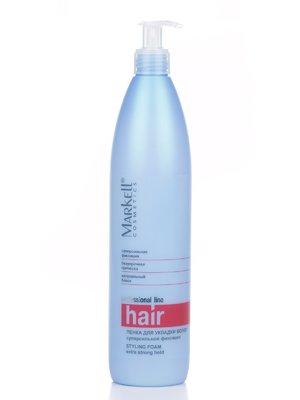 Пінка для укладки волосся суперсильної фіксації (500 мл) | 2023864