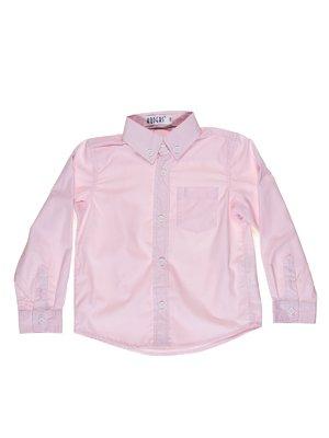 Сорочка рожева у вузьку смужку | 513949