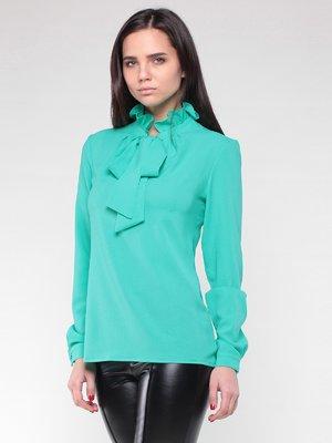 Блуза ментолового цвета | 2024250