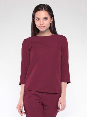 Блуза сливового цвета | 2024029