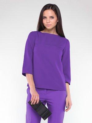Блуза фіалкового кольору | 2024032