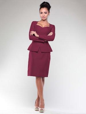 Сукня сливового кольору | 2024078