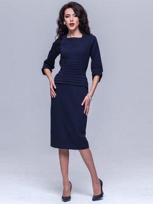 Платье темно-синее | 2033947