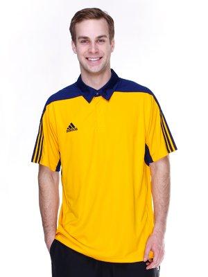 Футболка-поло желто-двухцветная   1835328