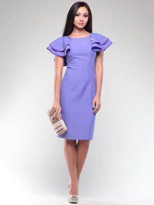 Платье сиреневое   2036811