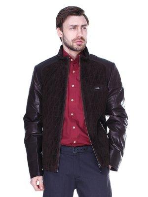 Куртка темно-коричнева | 1848765