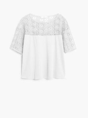 Блуза світло-молочна | 2065867