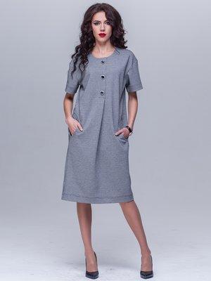 Платье серое | 2066393