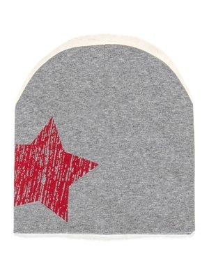 Шапка сіра із зіркою | 2073934