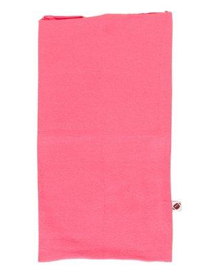 Шарф-снуд розовый в принт | 2074307