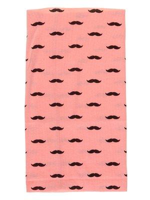 Шарф-снуд рожевий в принт | 2074467