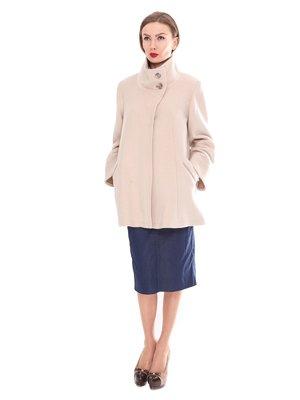 Пальто бежевое | 2083621