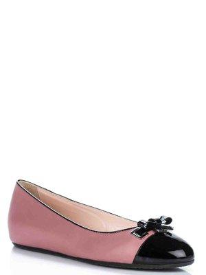 Балетки чорно-рожеві - Bally - 2084026