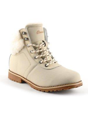 Ботинки бежевые | 2086076