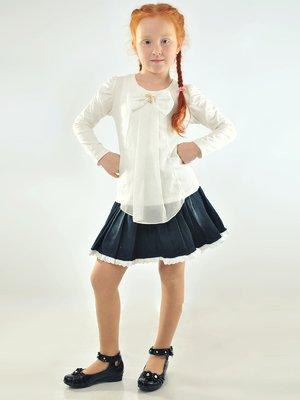 Блуза біла з бантиком   2091492