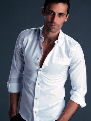 Рубашка белая - SAINT LOREN - 2094418