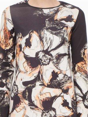 Платье цветочной расцветки   2097134