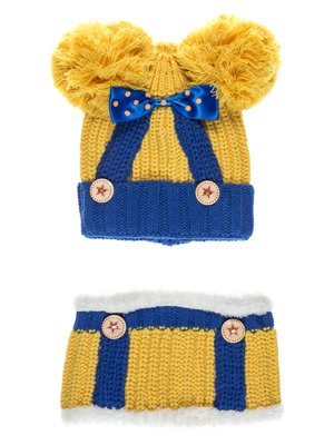 Комплект: шапка і шарф | 2095023