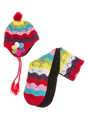Комплект: шапка і шарф | 2095075