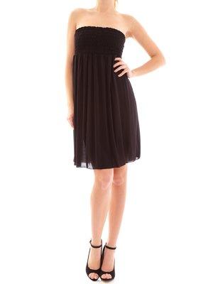 Сукня-бюст'є чорне | 2050351