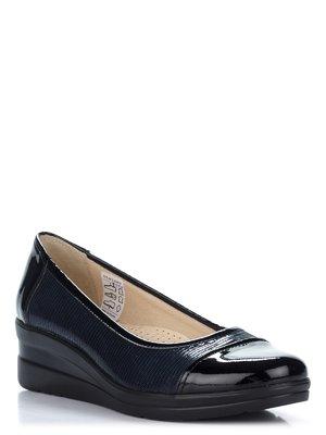 Туфли черно-синие | 2110217