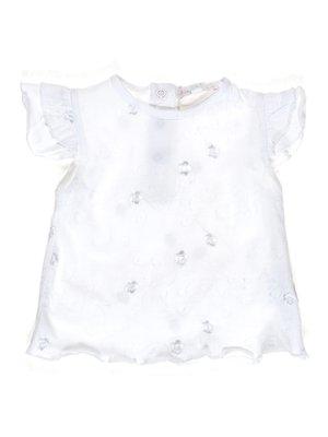 Блуза біла з вишивкою | 1306904